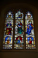 All Hallows Church Tottenham Haringey England - north aisle prophet and evangelist window.jpg