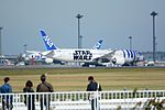 All Nippon Airways, Boeing 787-9 JA873A 'STAR WARS R2-D2' NRT (23228770605).jpg