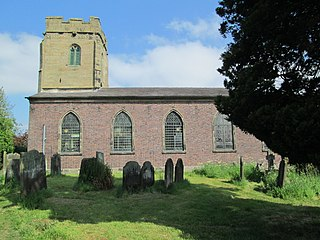 Milwich village in United Kingdom