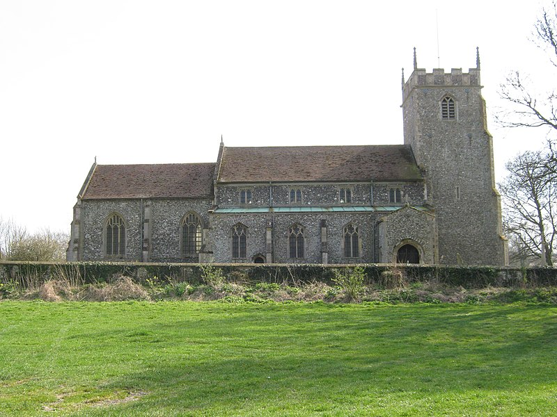 File:All Saints Church, Burnham Thorpe. - panoramio.jpg