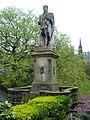 Allan Ramsay statue, Princes Street Gardens Edinburgh.JPG