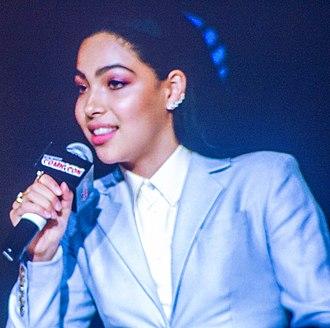 Allegra Acosta - Acosta speaks at the 2017 New York Comic Con