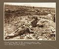 Almost every bay of the communication sap from Pear trench to Hamel Village contained dead bodies of the enemy (3007981490).jpg