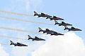 Alpha Jet Patrouille de France (3871125838).jpg