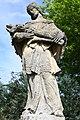 Alsóbogát, Nepomuki Szent János-szobor 2021 08.jpg