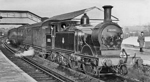 Alton railway station - Local train to Winchester in 1955