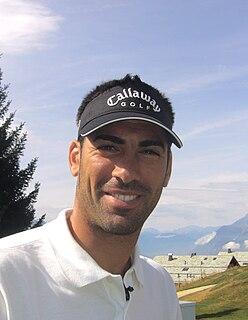 Álvaro Quirós Spanish professional golfer