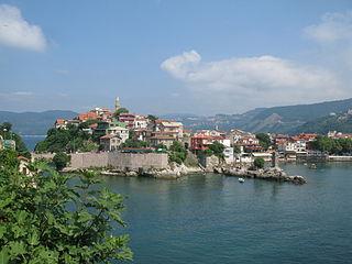 Amasra Place in Black Sea, Turkey