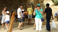 File:Amazing Celtic Music in Park Guell of Barcelona.webm