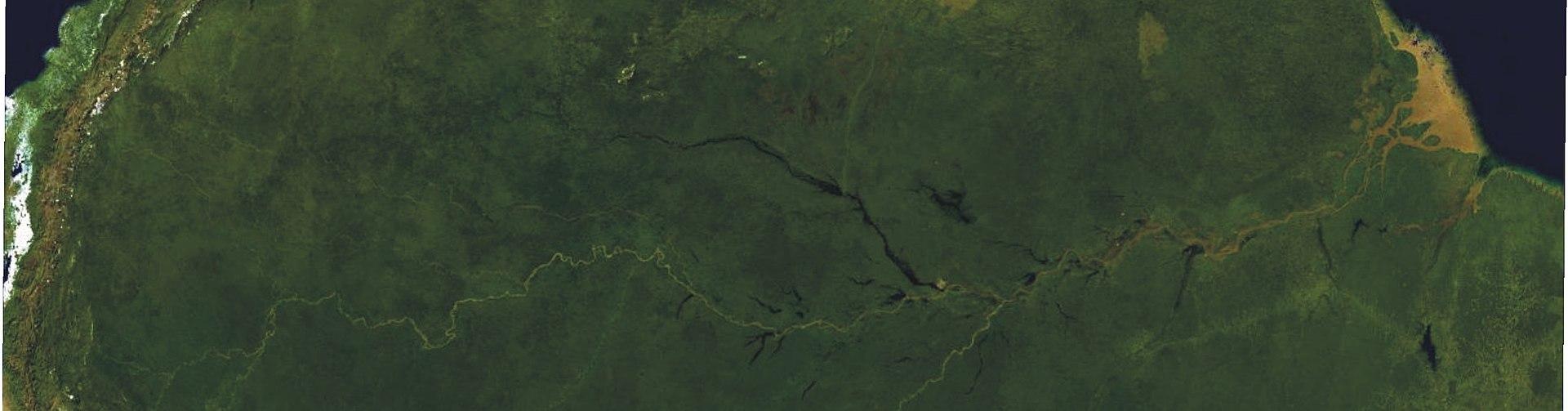 Amazonas Becken ..