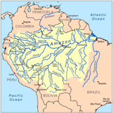 Amazon basin - Wikipedia