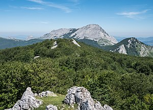 Mari (goddess) - Anboto is one of the mountains where Mari is supposed to live