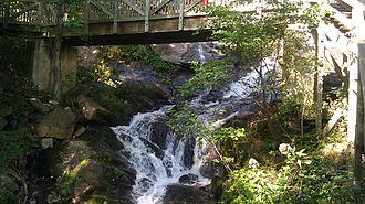 Amicalola Falls - Image: Amicalola Falls Main Dawsonville GA 02