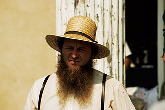 Shenandoah (beard) - Image: Amish Man (5019141655)