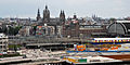 Amsterdam cityscape- Central railway station, Basilica of St. Nicholas. Amsterdam, Netherlands, Northern Europe.jpg