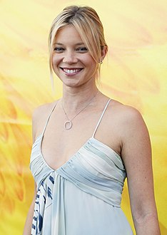 "Amy Smart during ""LA Fashion Week"" in 2008"