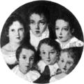 Ana Luisa de Loreto wife of Caxias with siblings.png
