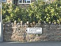Ancient Monument sign for Spofforth Castle (geograph 5751598).jpg