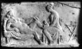 Ancient Roman relief carving of a midwife Wellcome M0003964.jpg