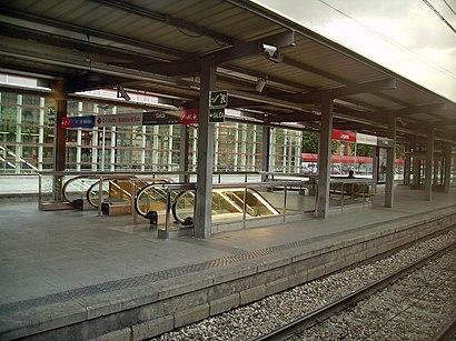 Cómo llegar a Leganés Central en transporte público - Sobre el lugar