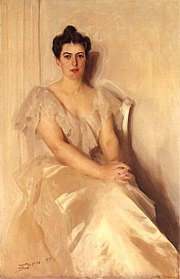 Anders Zorn - Mrs Frances Cleveland