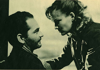 Constance Dowling - Andrea Checchi and Constance Dowling in Stormbound (1950)