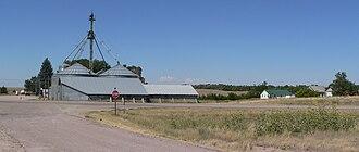 Angora, Nebraska - Angora, seen from the east across U.S. Highway 385