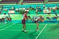 Ankara - BWF World Senior Badminton Championships - Bill & Sanne in MX 60 (11078016544).jpg