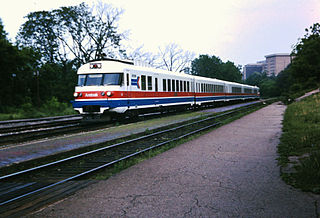 Turboliner family of gas turbine trainsets built for Amtrak in the 1970s
