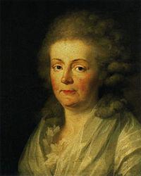 Johann Friedrich August Tischbein: Anna Amalia von Sachsen-Weimar und Eisenach