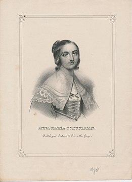 Гравюра Анны Марии ван Шурман