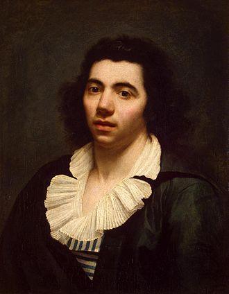 Anne-Louis Girodet de Roussy-Trioson - Self-portrait, 1790, Hermitage Museum