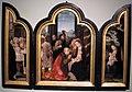 Anonimo fiammingo, trittico con l'adorazione dei magi e altre scene, xvi sec.JPG