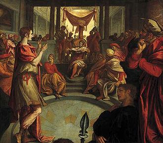 "Anthonie Blocklandt van Montfoort - ""Joseph interpreting Pharaoh's dream"" by Anthonie van Montfoort (Centraal Museum)"