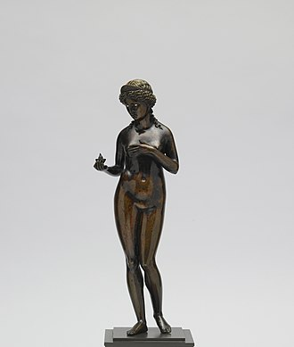 Pier Jacopo Alari Bonacolsi - Venus Caritas, Venus as spiritual love (Walters Art Museum)