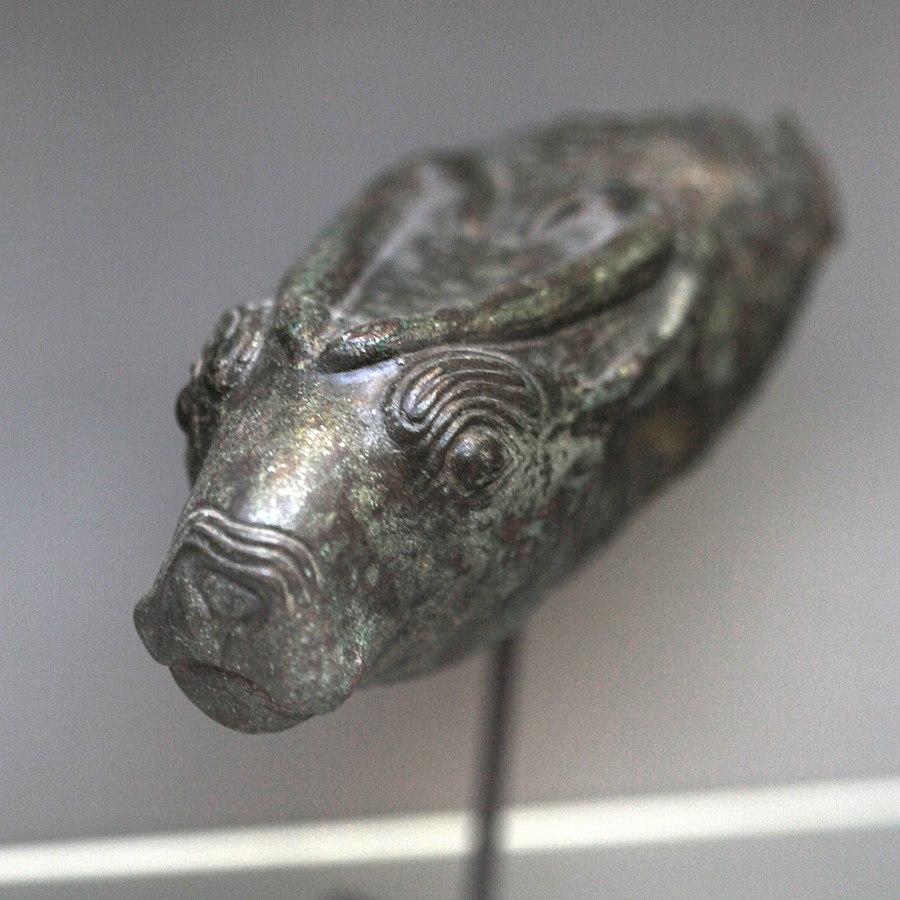 Antilope headed rhyton-N 8259