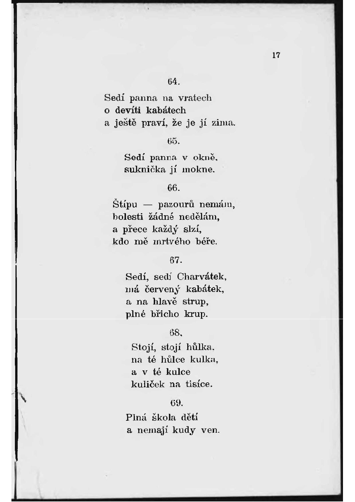 5177f55c3 Stránka:Antonín Mojžíš-České národní hádanky.pdf/19 – Wikizdroje