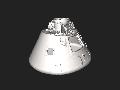 Apollo command module smithsonian low detail .stl