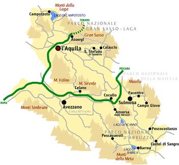 Provincia Dell Aquila Wikipedia