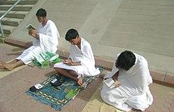 Arafat pilgrims