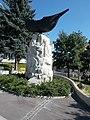 Ararat monument by Benő Pogány Gábor in 1997, Veszprém Belváros, 2016 Hungary.jpg