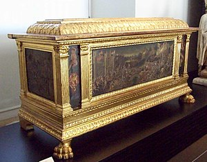 Hope chest - Renaissance hope chest (cassone) from Florence (15th century)