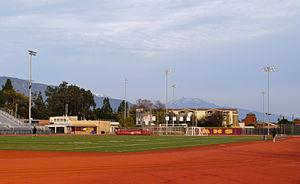Arcadia High School (California) - The track at Arcadia High School.