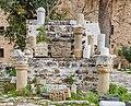 Archaeological artefacts, Kyrenia Castle, Kyrenia, Northen Cyprus.jpg