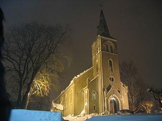 Barbu Church Church in Aust-Agder, Norway