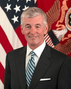 John McHugh as United States Secretary of the Army