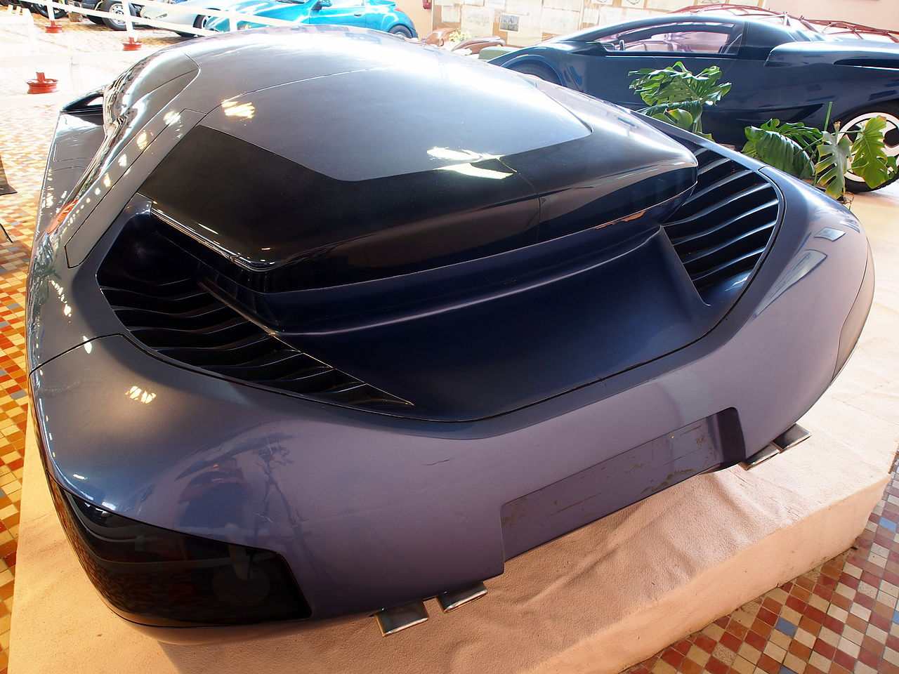 file art tech vera concept car at the mus e automobile de vend e pic 11 jpg wikimedia commons. Black Bedroom Furniture Sets. Home Design Ideas