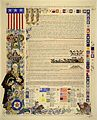 Arthur Szyk (1894-1951). Declaration of Independence (1950), New Canaan, CT.jpg