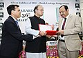 Arun Jaitley felicitated the key contributors-policypractitionersSHG leaders, at the 36th NABARD Foundation Day and Silver Jubilee of SHG Bank Linkage Programme, in New Delhi (2).jpg