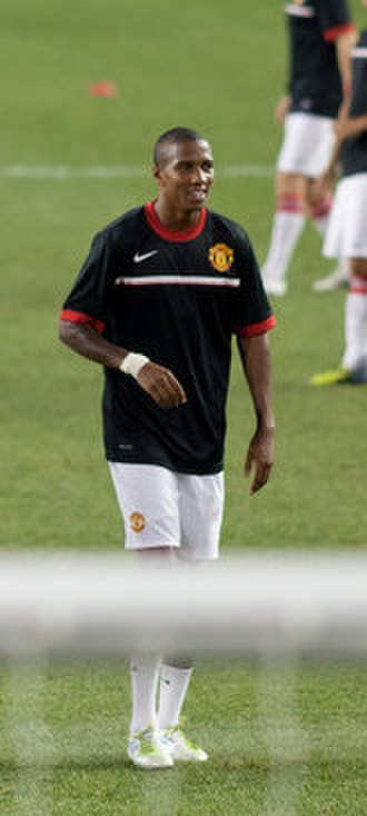 Ashley Young - Young training with Manchester United in 2011